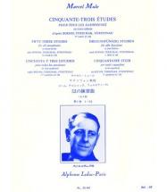 Mule M. - 53 Etudes D Apres Boehm, Terschack Et Furstenau Volume 1 - Saxophone
