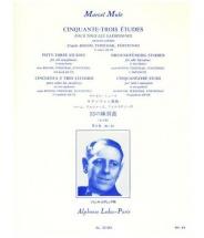 Mule M. - 53 Etudes D Apres Boehm,terschack Et Furstenau Vol. 3 - Saxophone
