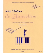 Gallois-montbrun - Les Reves De Janceline N°7 - Polka Du Rossignol - Violon / Piano