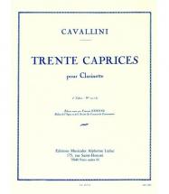 Cavallini - 30 Caprices Vol.2 - Clarinette