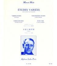 Etudes Variees Dans Toutes Les Tonalites - Saxophone