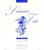 Gallois-montbrun R. - Sarabande Et Finale - Trompette Et Piano