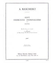 Reichert/caratge - 7 Exercices Journaliers - Flute