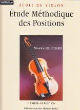 Hauchard Maurice - Etude Des Positions Vol.1