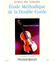 Hauchard Maurice - Etude Methodique De La Double Corde Vol.1