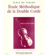 Hauchard Maurice - Etude Methodique De La Double Corde Vol.2