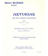 Busser Henri - Asturias Sur Des Themes Espagnols Op.84 - Saxophone and Piano