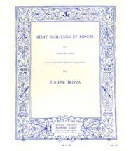 Bozza E. - Recit, Sicilienne Et Rondo - Basson Et Piano