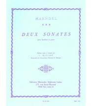 Haendel G. F. - 2 Sonates - Hautbois Et Piano