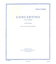 Tomasi Henri - Concertino En Mib Majeur - Flute and Piano