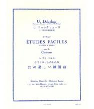Delecluse U. - Vingt Etudes Faciles D