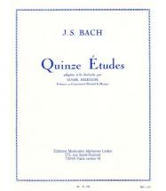 Bach J.s./delecluse - 15 Etudes - Clarinette