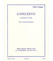 Tomasini H. - Concerto - Clarinette Et Piano