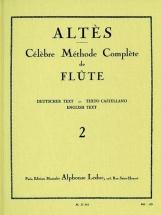 Altes - Methode De Flute Traversiere Vol. 2