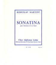 Martinu Bohuslav - Sonatina - Clarinette Et Piano