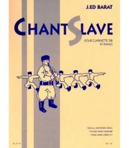 Barat - Chant Slave - Clarinette & Piano