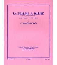 Berghmans J. - Tableaux Forains N° 4 (la Femme A Barbe) - Trombone Et Piano
