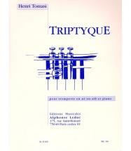 Tomasi Henri - Triptyque - Trompette and Piano