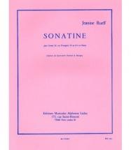 Rueff Jeanine - Sonatine - Trompette and Piano