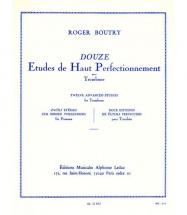 Boutry Roger - Etudes De Haut Perfectionnement