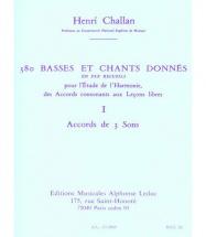Challan H. - 380 Basses Et Chants Donnes Vol.9b Realisation