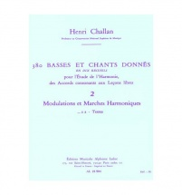 Challan H. - 380 Basses Et Chants Donnes Vol. 2