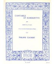 Gaubert Ph.- Cantabile Et Scherzetto - Cornet Sib Et Piano
