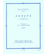 Handel G.f. - Sonate Op.8 N°1 - Clarinette and Piano