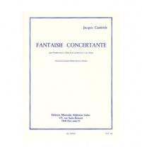 Casterede J. - Fantaisie Concertante  - Tromb.basse (tuba Ut, Saxhorn Basse Sib) Et Pno