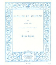 Sheet music: Prelude et Scherzo (Bassoon, Piano (duet))