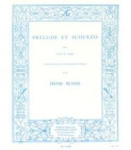 Busser Henri - Prelude Et Scherzo