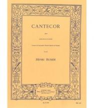 Busser Henri - Cantecor - Cor & Piano