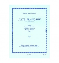 Dubois P. M. - Suite Francaise - Saxophone Seul