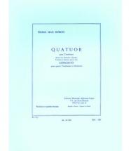 Dubois Pierre Max - Quatuor