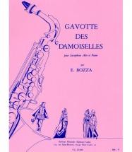 Bozza E. - Gavotte Des Demoiselles - Saxophone Mib Et Piano