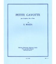 Bozza Eugene - Petite Gavotte - Saxophone and Piano