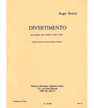 Boutry Roger - Divertimento Pour Saxophone Alto Et Pïano