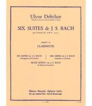 Bach J.s. - 6 Suites Pour Violoncelle Bwv 1007/12 - Clarinette