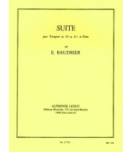 Baudrier Emile - Suite - Trompette/piano