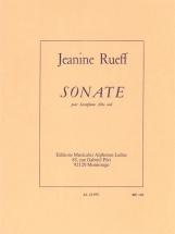 Rueff Jeanine - Sonate Pour Saxophone Seul