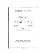 Delecluse Jacques - Methode De Caisse-claire