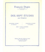 Dupin F. - 17 Etudes - Xylophone
