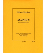 Denisov Edison - Sonate - Saxophone Alto and Piano