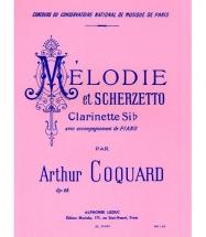Coquard A. - Melodie Et Scherzetto Opo.68 - Clarinette
