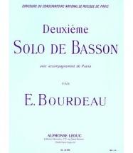 Bourdeau - Solo N° 2 - Basson Et Piano