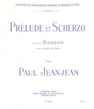 Jeanjean - Prelude Et Scherzo - Basson Et Piano