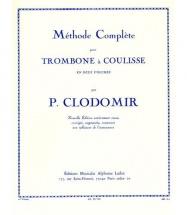 Clodomir P. F. - Methode De Trombone A Coulisse Vol.1