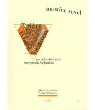 Ravel Maurice - Piece En Forme De Habanera - Violoncelle Et Piano