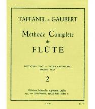 Gaubert / Taffanel - Methode De Flute Traversiere Vol. 2