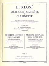 Klose H. - Methode Complete De Clarinette Vol.2